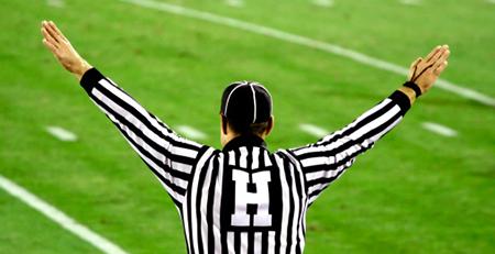photo of a referee